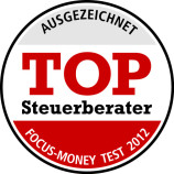 Qualifikation Steuerkanzlei Metzenthin, FOCUS Steuerberatertest,